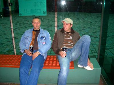 Dietmar und Marcel in Heidelberg, 2006