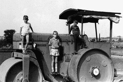 Leni in Niederasphe, 1968