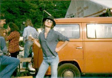 Leni im Jugendzentrum Ronneburg, 1980