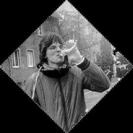 Ruppi, Faschingsumzug Hanau, 1982