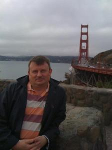ich vor Brücke