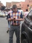 Marrakesch, März 2013 ... mit Petra ... auf der Suche nach dem Weg