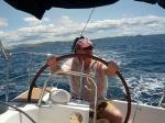 Segentörn, Kroation, Juni 2013 ... die bewährte Männerriege ist wieder auf dem Wasser.