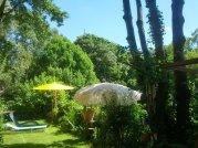 Die jetzigen Mieter und ihr Garten